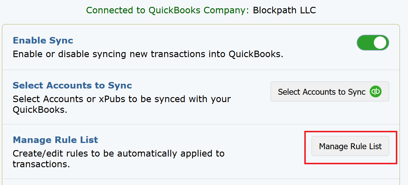 QuickBooks Guide: How to Create/Edit Transaction Rules